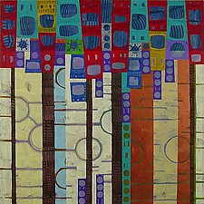 Abstract Diary:  October 3 by Chin Yuen (Acrylic Painting)