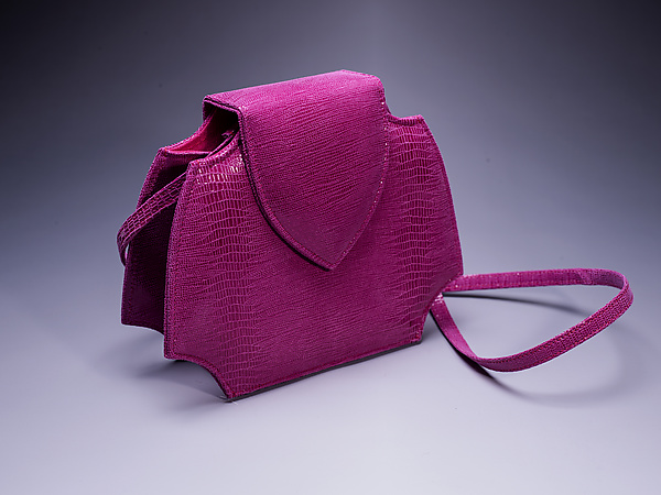 Phillie Evening Bag in Magenta