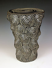 Mogul Table by Larry Halvorsen (Ceramic Side Table)