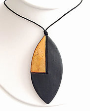 Oblong Pendant by Syra Gomez (Ceramic Necklace)