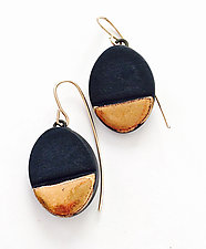 Dangly Ovals by Syra Gomez (Ceramic Earrings)