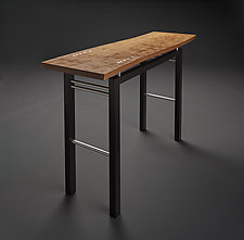 Breeze by Carol Jackson (Wood and Metal Console Table)