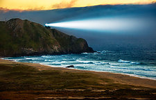 Point Sur Lighthouse by Matt Anderson (Color Photograph)