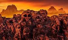 Alien Hillside by Matt Anderson (Color Photograph)