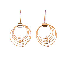 Grad Circle Posts by Meghan Patrice  Riley (Jewelry Earrings)