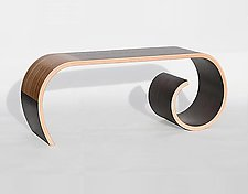 Toboggan Bench by Kino Guerin (Wood Bench)