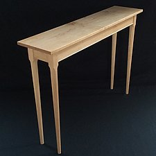 Console Table by David Klenk (Wood Console Table)