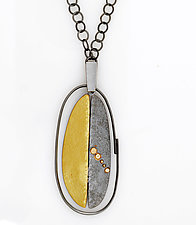 Scarab Necklace by Sydney Lynch (Gold & Silver Necklace)
