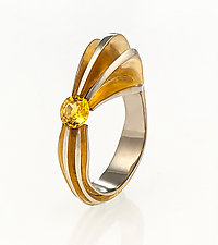 The Ring by Shuang Feng (Gold & Stone Ring)