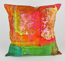 Radar Love Pillow by Ayn Hanna (Cotton & Linen Pillow)