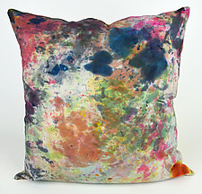 Spring Fling Pillow by Ayn Hanna (Cotton & Linen Pillow)
