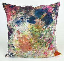 Spring Fling Pillow by Ayn Hanna (Cotton & Linen Pillow)