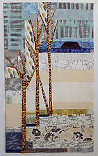 Seasonal Remembrance by Linda Beach (Fiber Wall Art)