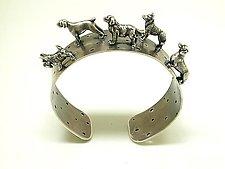 Dog Cuff Bracelet by Kristin Lora (Jewelry Bracelets)