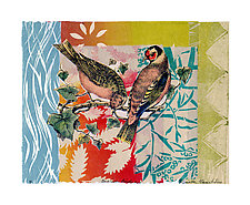 Sunrise Birds Xlll by Ouida  Touchon (Mixed-Media Wall Art)