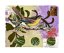 Sunrise Birds XlV by Ouida  Touchon (Mixed-Media Wall Art)