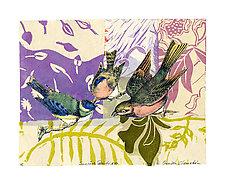 Sunrise Birds XVl by Ouida  Touchon (Mixed-Media Wall Art)