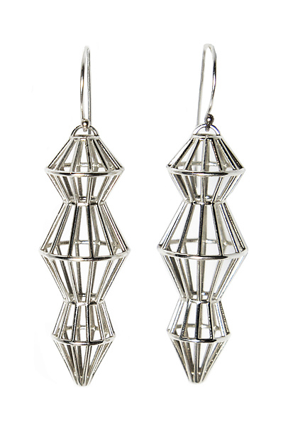 Cage Drop Earrings