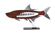 Tarpon by Mark Gottschalk (Wood & Metal Sculpture)