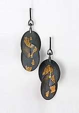 Orbit Earrings by Marcia Meyers (Gold & Silver Earrings)