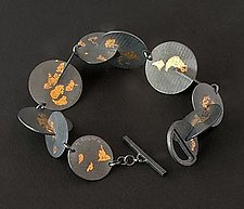 Orbit Bracelet by Marcia Meyers (Gold & Silver Bracelet)