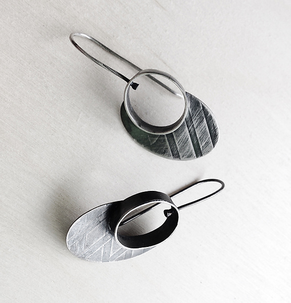 Oval Portal Earrings