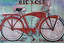 Bicycle by Elisa Root (Oil Painting)