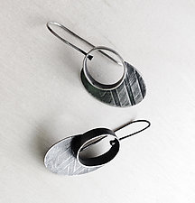 Oval Portal Earrings by Jane Pellicciotto (Silver Earrings)