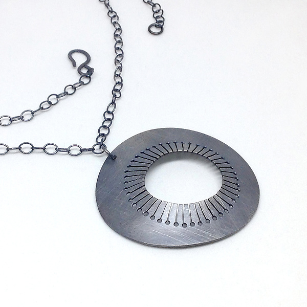 Moon Jellyfish Necklace by Jane Pellicciotto (Silver ...