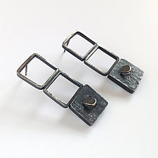 Blink Earrings by Jane Pellicciotto (Silver Earrings)