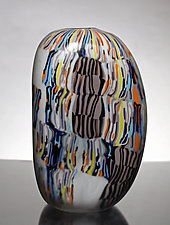 Amorphous Mokume II by James Friedberg (Art Glass Vessel)