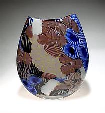 Stratum by James Friedberg (Art Glass Vessel)