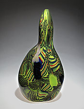 Figurative Stratum by James Friedberg (Art Glass Vessel)