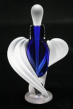 Half Twist Perfume Bottle by Thomas Kelly (Art Glass Perfume Bottle)