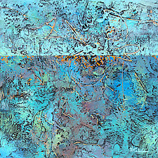 Sunny Water by Nancy Eckels (Acrylic Painting)