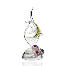 Fish by Jennifer Caldwell (Art Glass Sculpture)
