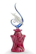 Whales by Jennifer Umphress Studios (Art Glass Sculpture)