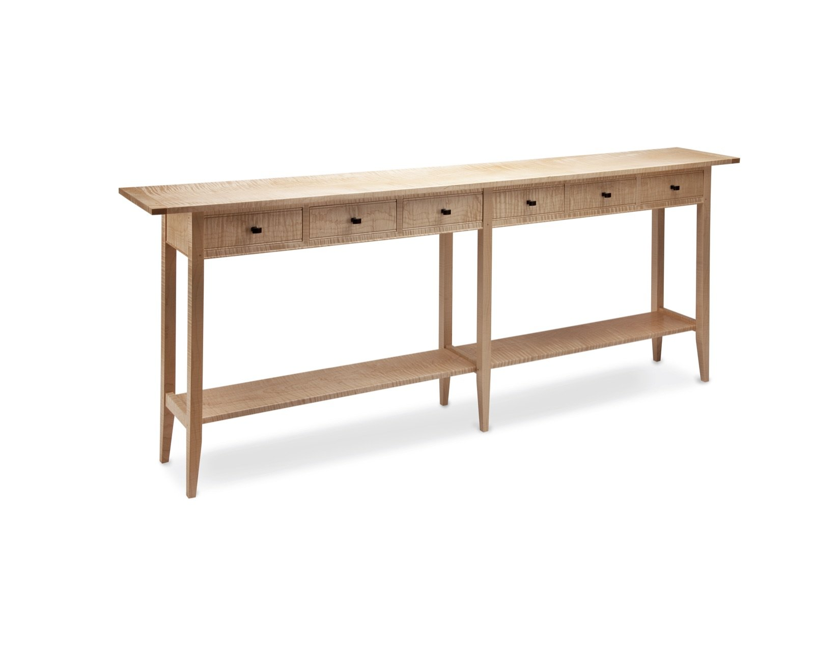 Long Sofa Table By Tom Dumke Wood Console Table Artful