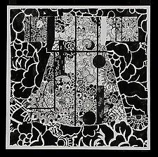 Black & White Kimono by Susan Rosman (Pigment Print)