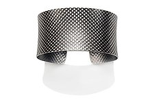 Polka Dot Cuff by Tom McGurrin (Silver Bracelet)