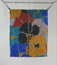 California Dream Beadwork and Spinel Necklace by Julie Long Gallegos (Beaded Necklace)