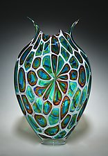Windowed Foglio by David Patchen (Art Glass Vessel)
