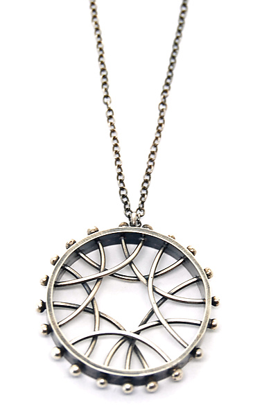 Radial Arc Necklace