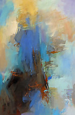Deep Blue 2 by Debora  Stewart (Acrylic Painting)