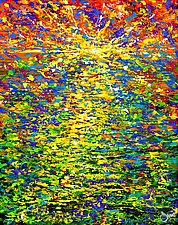 Sunrise by John E Metcalfe (Acrylic Painting)
