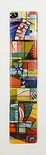 Passing Seasons by Mary Johannessen (Art Glass Wall Sculpture)