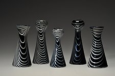 Zebri by David J. Benyosef (Art Glass Vase)