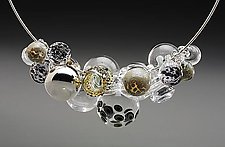 Translucent Reflection Necklace by Melissa Schmidt (Art Glass Necklace)