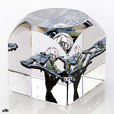 Delilah's Temple by Benjamin Silver (Art Glass Paperweight)