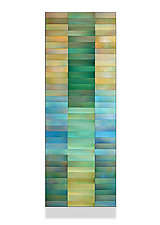 Emerald Gold by Robert A. Brown and Anne Moran (Metal Wall Sculpture)